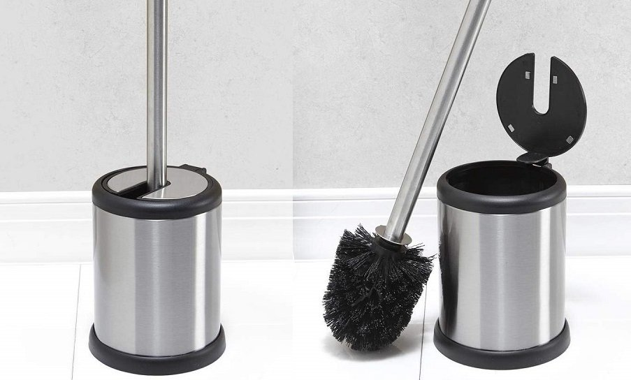 Stainless Steel Toilet Brush & Holder Only $7.63 – Free Shipping