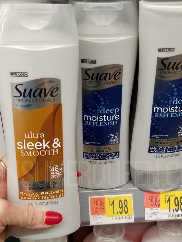 Suave Men Hair Care & Professionals Only 48¢ at Walmart!