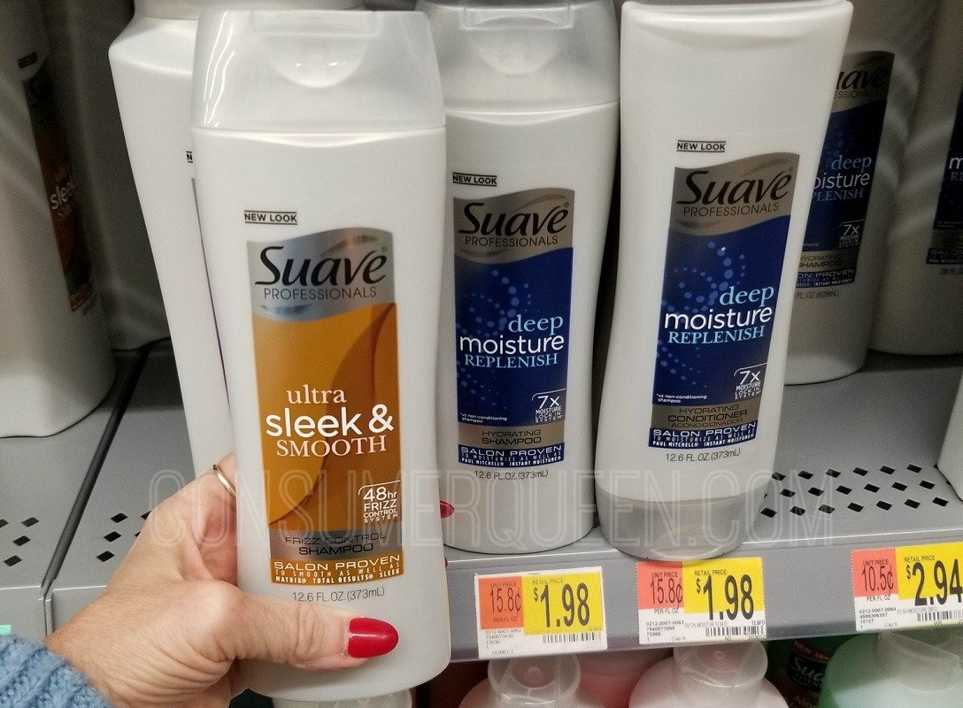 suave professionals and suave men hair care at walmartalmart
