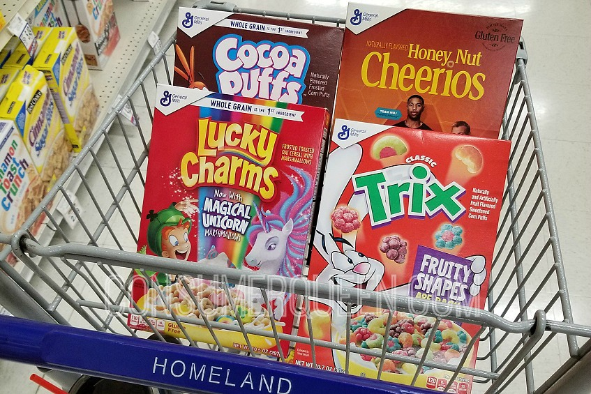 Trix Cereal as Low as 75¢ at Homeland & Country Mart (Starts 1-30)