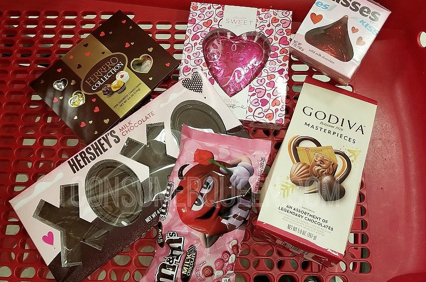 Valentine's Day Candy Sale + $5 Off $20 Purchase at Target
