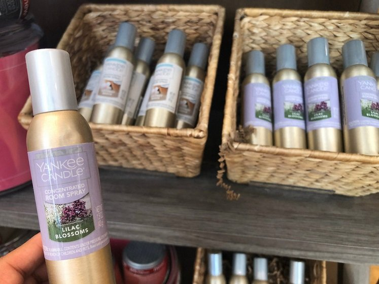 Concentrated Room Spray & More Only $3 at Yankee Candle