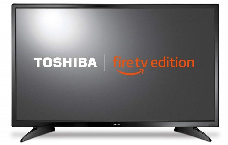 32 Inch Smart LED TV by Toshiba $99.99 + Free Shipping!