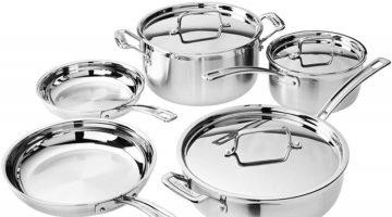 8 piece pro cookware set