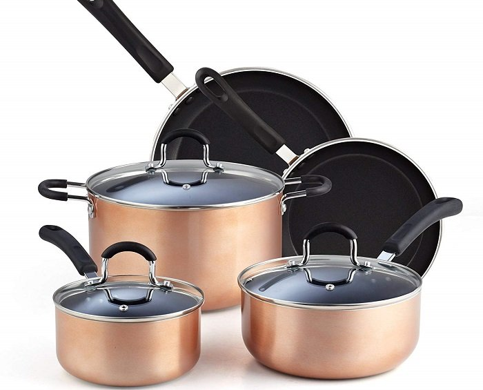 8 Piece Cookware Set by Cook N Home $49.99 + Free Shipping!