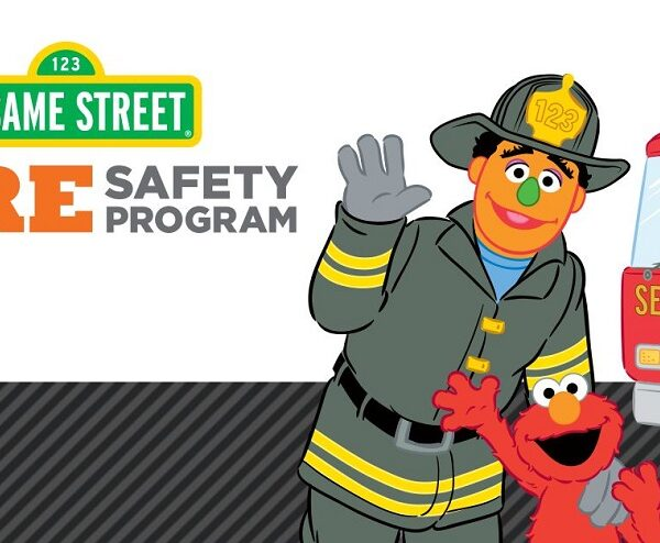 free elmo fire safety coloring book