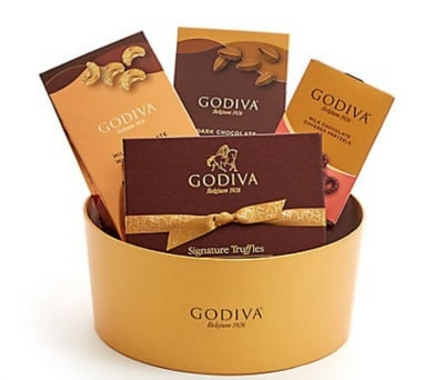 Godiva Party Snacks Delight Gift Box