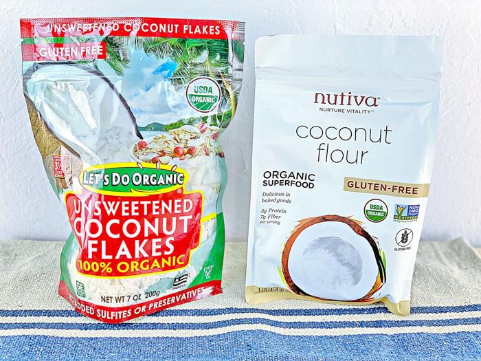 IHerb Keto Coconut Flour & Flakes