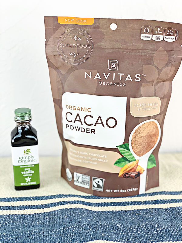 IHerb Vanilla and Cacao Powder