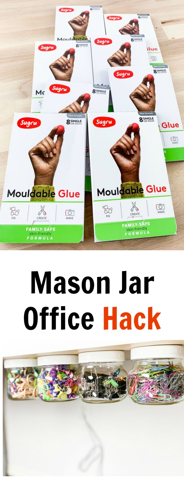 Mason Jar Office Hack