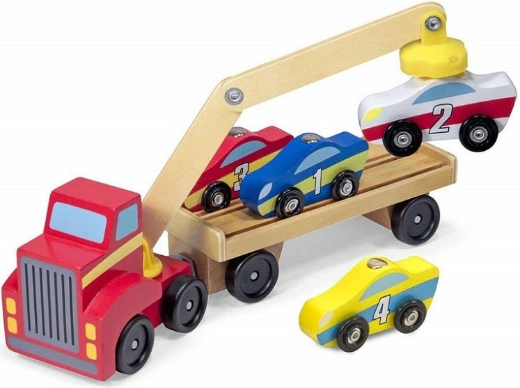 Wooden Toy Set by Melissa & Doug $15.99 on Amazon!