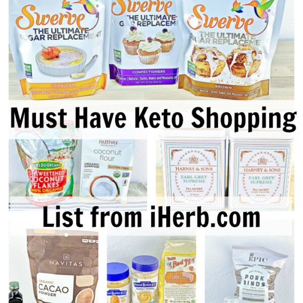 Must Have Keto Shopping List from iHerb