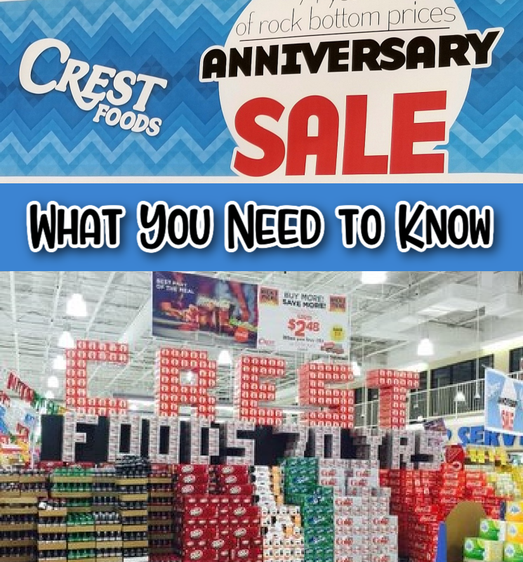 Crest Anniversary Sale