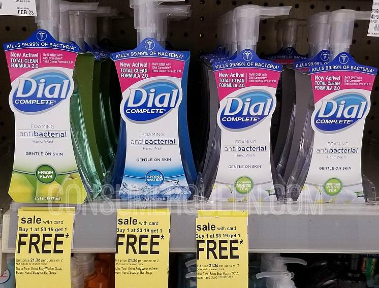 dial foaming hand soap walgreens