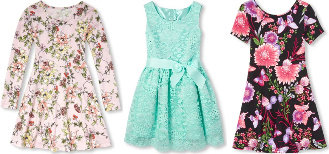 Girls Dresses Up to 50% Off + More at The Children's Place (FREE Shipping)