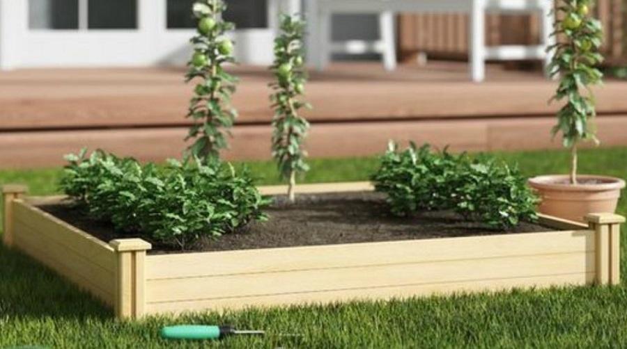 raised garden beds wayfair