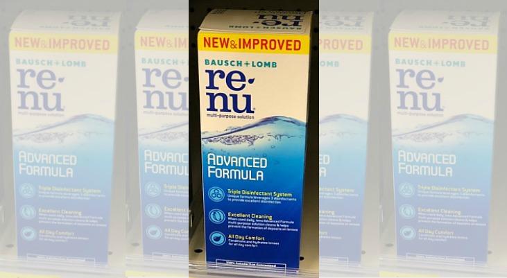 Contact Solution (Biotrue or Renu) 2-Pk $7.99 (Reg. $15) at Walgreens
