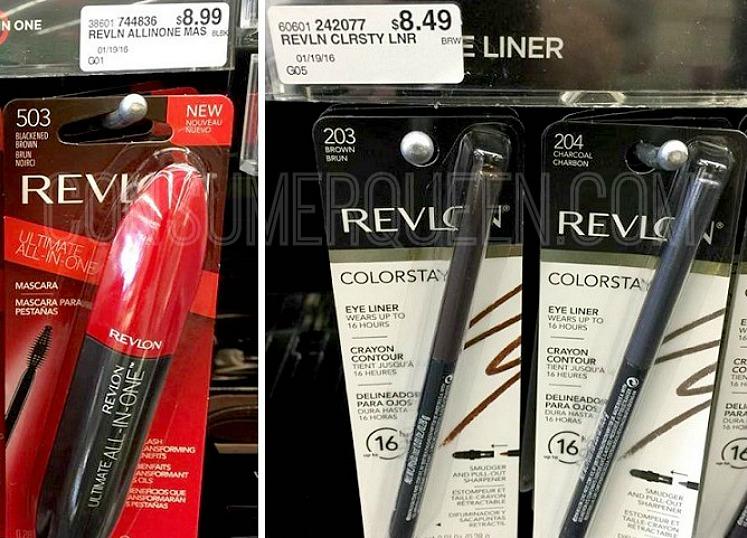 revlon mascara and eyeliner