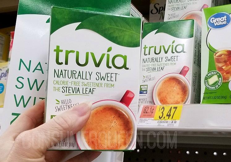 Truvia Sweetener 40 Count Box FREE at Walmart After Rewards
