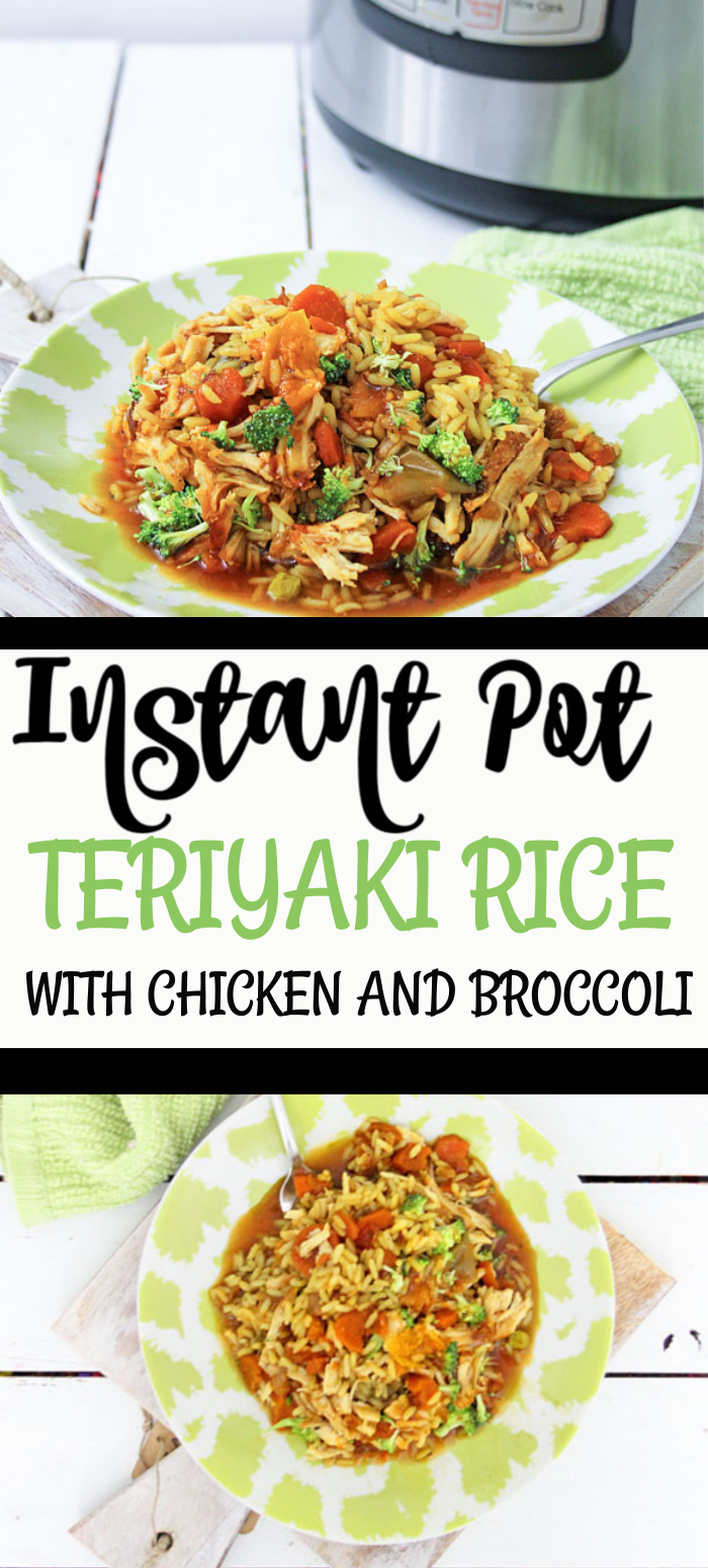 Instant Pot Teriyaki Rice With Chicken And Broccoli-2049