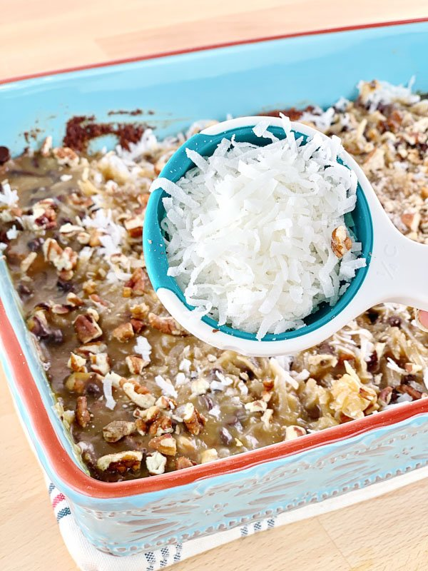 LOW CARB MAGIC BARS CORNER COCONUT