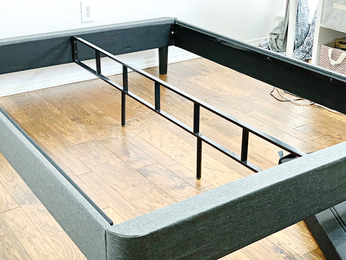 Bed Frame With Middle