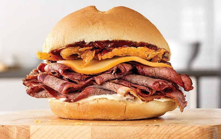 FREE Signature Sandwich With Purchase of Drink at Arby's!
