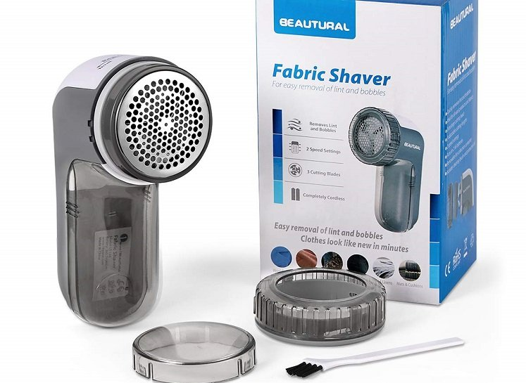 Beautural Fabric Shaver With 2 Speeds $16.99 on Amazon!