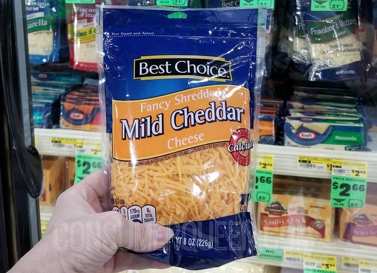 best choice shredded cheese