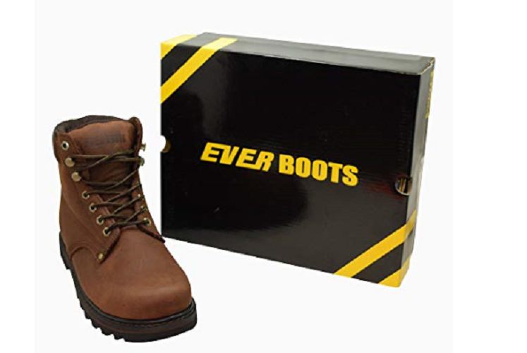 Men's Work Boots With Rubber Sole by Ever Boots $44.75 + Free Shipping!