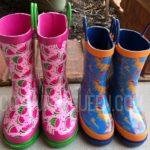 cute rain boots for kids