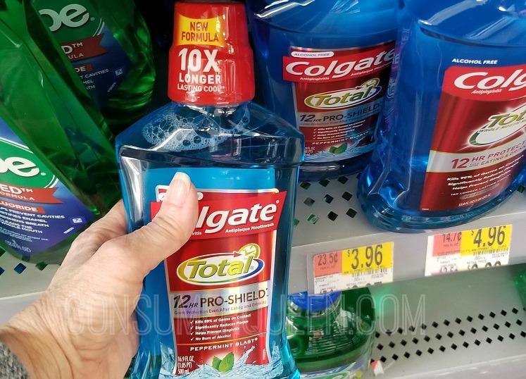 colgate total mouthwash