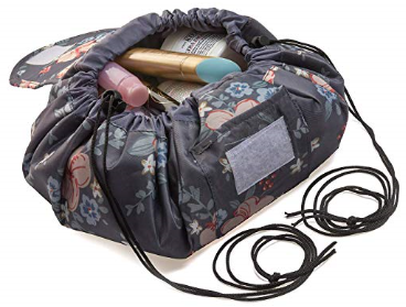 Drawstring Makeup Bag in 3 Color Choices $7.99 on Amazon!