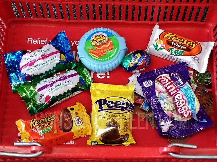 easter candy singles CVS