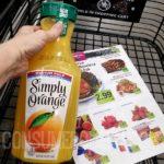free simply orange juice