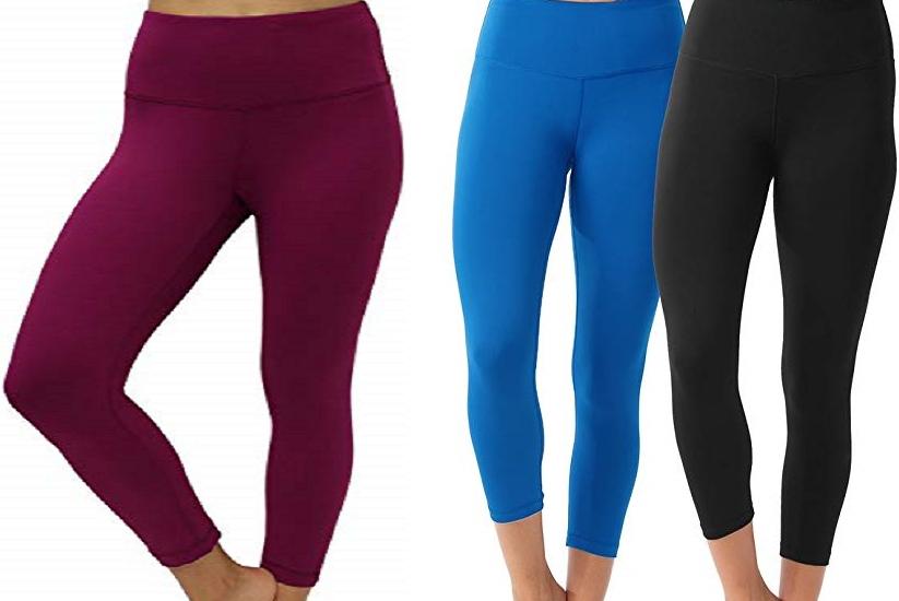 Women's Power Flex Capri Leggings $19.99 on Amazon!