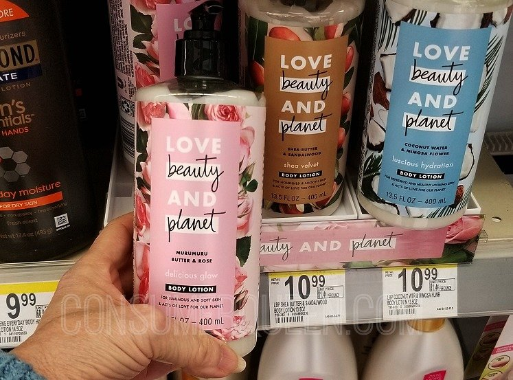 Love Beauty and Planet Body Lotion Only $2.99 (Reg. $10.99) at Walgreens After Rewards
