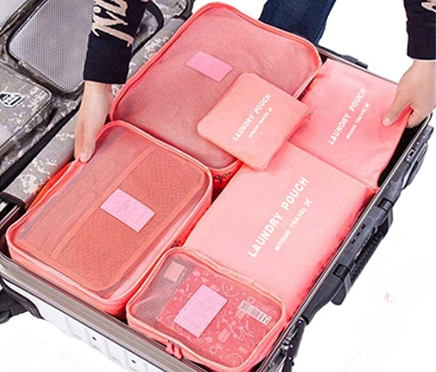 Packing Cubes – Set of 7 Only $15.99 on Amazon!