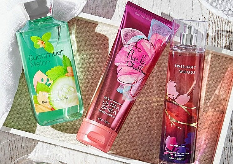 retired fragrances bath & body Works