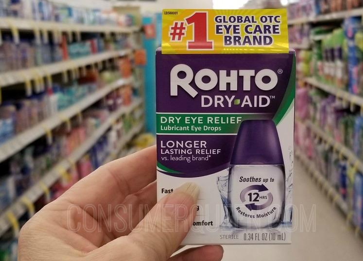 rohto dry eye solution walgreens