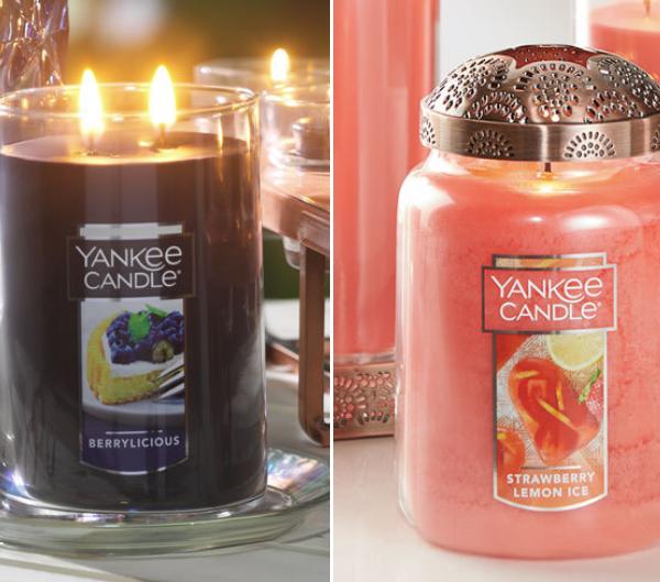 select large yankee candles
