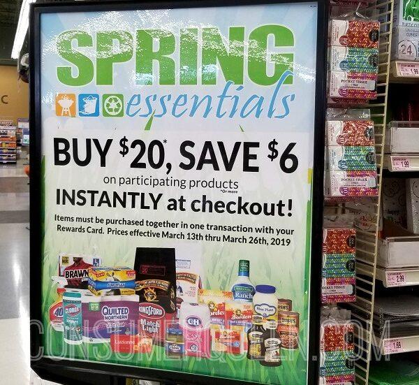 spring essentials deal homeland