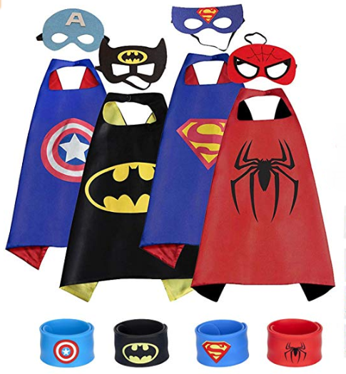Super Capes And Masks for Kids 50% Off With Coupon on Amazon!