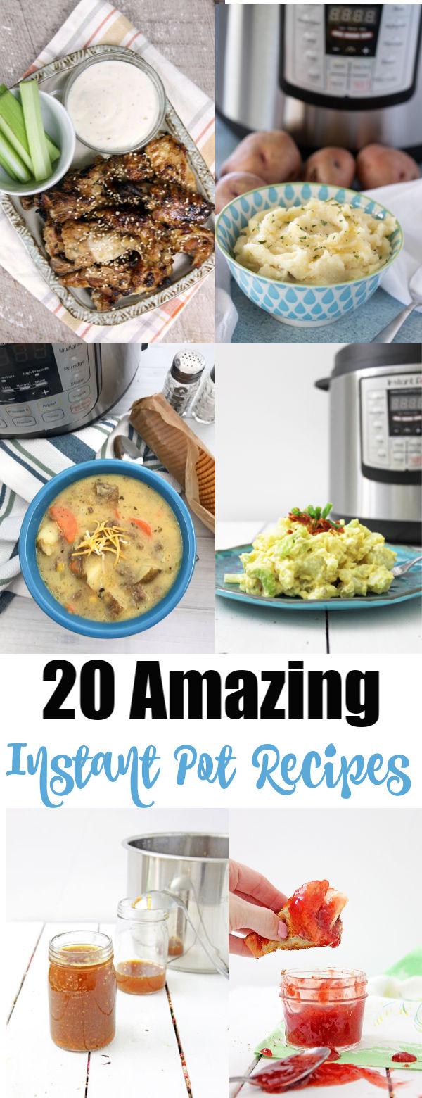 20 Amazing Instant Pot Recipes