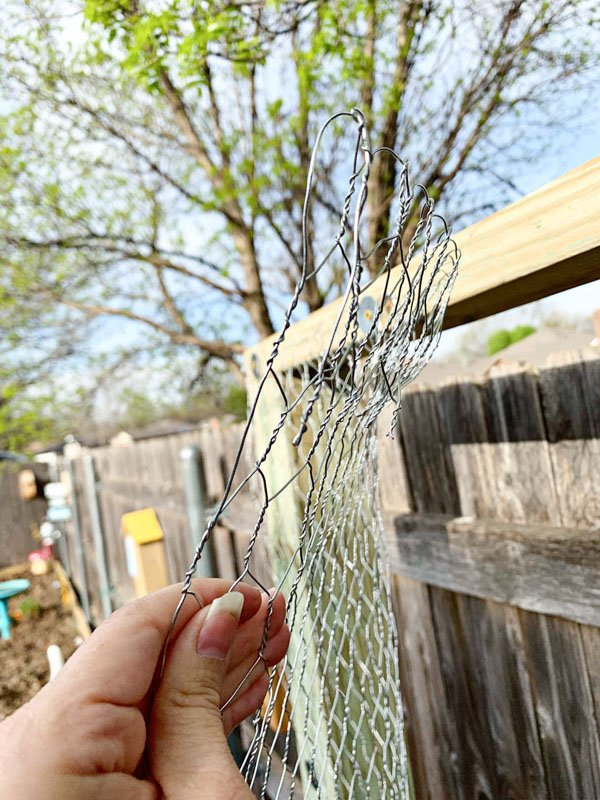 Garden Trellis Fold Chicken Wire