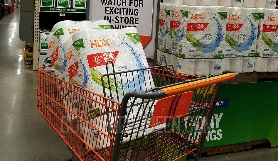 HDX Paper Towels 12 Pack Double Roll $10 at Home Depot + More (Today Only)