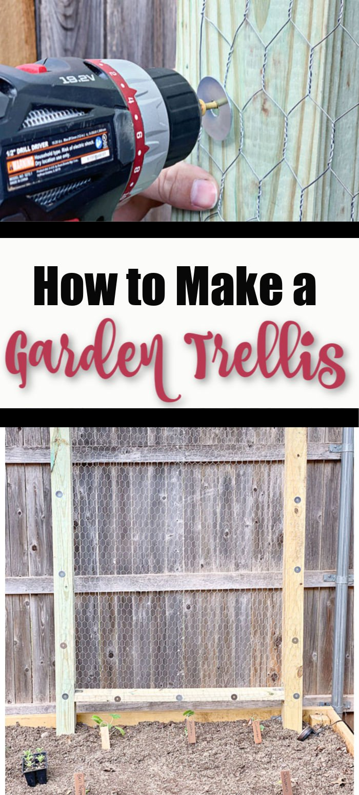 How to Make a Garden Trellis