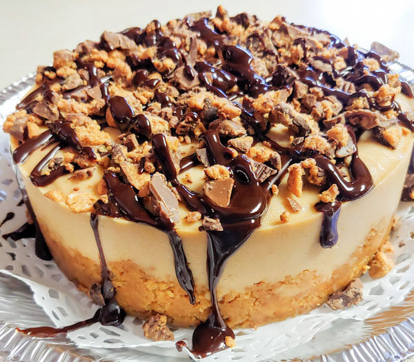 Instant Pot Reese's Cheesecake