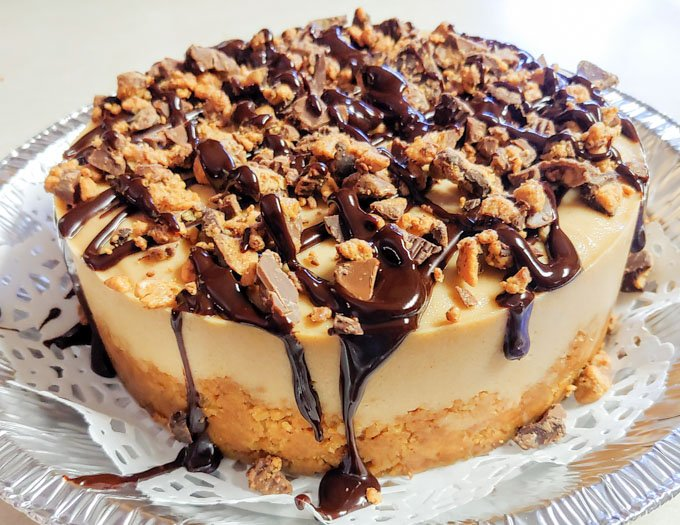 Instant Pot Reeses Cheesecake