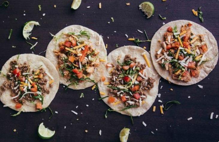 Uber Eats Tacos